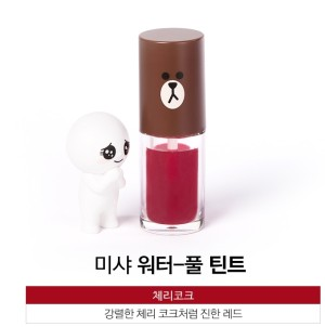 MISSHA Waterfull Tint (Cherry Coke) LINE FRIENDS EDITION