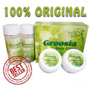 Cream Pemutih Wajah Groosia Original BPOM