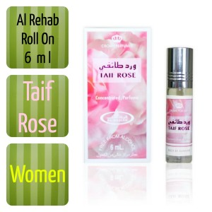 Jual TAIF ROSE, Parfum Wangi Non Alkohol 6 ml Alrehab/Al Rehab/Al-Rehab -  Kota Tangerang - Jalan Herbal | Tokopedia