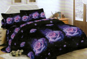 Bedcover Lady Rose Disperse 180 – Rose Purple