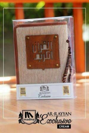 Alquran Cowok/Alquran Laki-laki yan Exclusive Madina-Cream