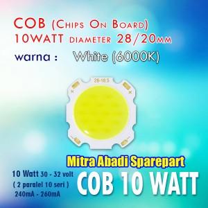 Jual Hpl 10w Cob High Power Led 10 Watt Chips On Board