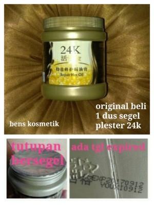 Masker Rambut 24k - 24k Active Gold Repair Hot Oil 500ml
