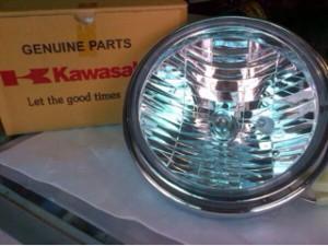 lampu depan Kawasaki ninja