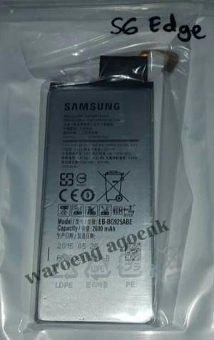 Baterai Samsung Galaxy S6 Edge kualitas original