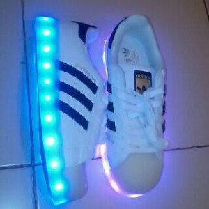 Adidas Superstar Led Shoes