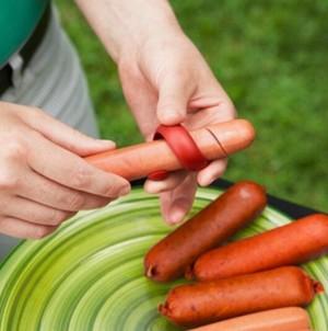 Alat Pemotong Sosis - Spiral Hot Dog Slicer