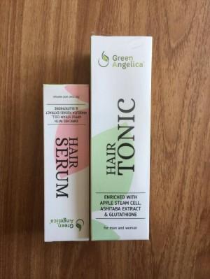 Obat rambut botak paket combo 1 green angelica