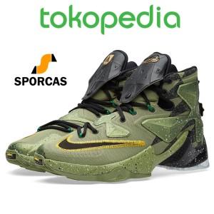 09255d99a741 Sepatu Basket Lebron 13 Xiii Asg All Star Aligator Green . ...