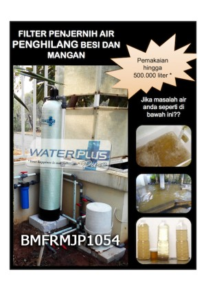FILTER AIR WATERPLUSPURE PENGHILANG BESI MANGAN | FRMJP1054
