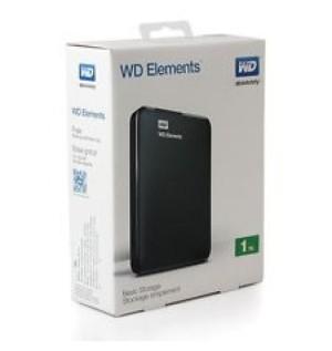 "WD Elements 2.5"" 1TB - USB 3.0"