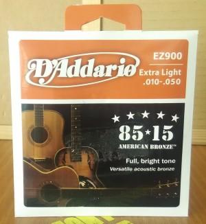 Senar Gitar Akustik String D'addario EZ900 Extra .