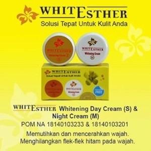 White Esther Whitening Cream Original   Cream Esther BPOM
