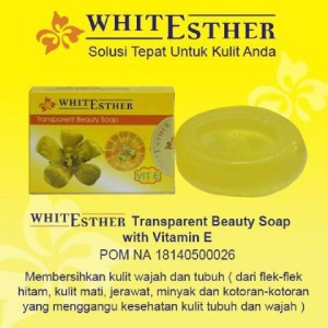 Sabun Esther BPOM   White Esther Transparent Beauty Soap BPOM Original