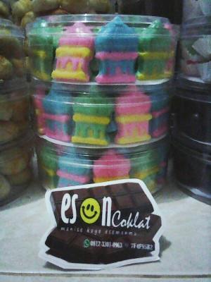 Coklat Masjid mix Ketupat