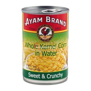 Jagung Biji Kalengan Ayam Brand Whole Kernel Corn in Water 425g