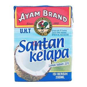 Santan Kelapa Ayam Brand Coconut Milk 200ml