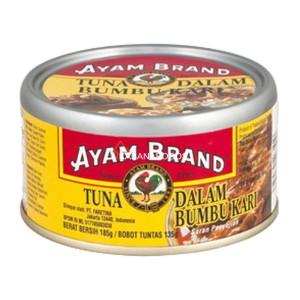 Tuna Kari Kalengan Ayam Brand Curry Tuna 185g