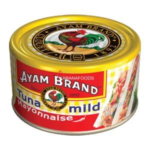 Tuna Mayones Sedang Kalengan Ayam Brand Tuna Mayonnaise Mild 185g