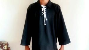 Setelan baju dan celana pencak silat / bela diri ukuran S