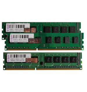 V-GeN DDR3 8GB PC10600/PC12800