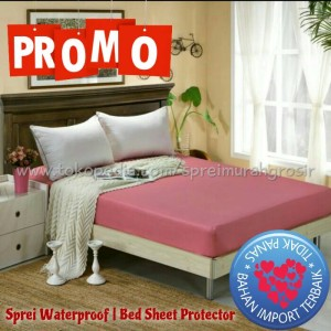 Sprei Waterproof 160x200x25 no.2 / queen polos seprei anti air ompol