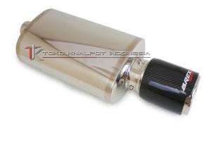 Knalpot Mobil Brexx Vs-power Orion Carbon Kevlar (Vsor-ck 01)