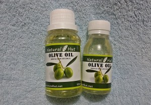 Pure Olive (Zaitun) Oil 60ml - Cosmetic Grade Cold Pressed