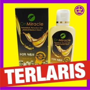 jual penumbuh penyubur rambut pria minyak kemiri miracle atasi Gambar Minyak Kemiri Miracle