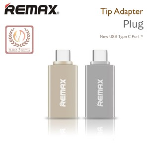 USB Type C On The Go (OTG) Tip Adapter Plug Remax