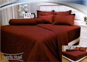 Bedcover Vallery 160 – Dark Red