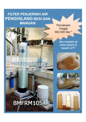 FILTER AIR WATERPLUSPURE PENGHILANG BESI MANGAN | BMFRM1054