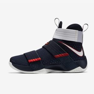 f5c001a2f94 ... Sepatu Basket Nike Lebron Soldier 10 USA Original 844379-416 ...