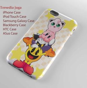 Pacman, Jigglypuff, Meta Knight and Kirby Iphone case dan semua hp