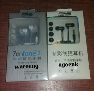 Headset Asus Zenfone 2 With Jack 3.5mm (Original 100%)