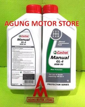 Castrol Manual EP 80w-90 Gear Oil (15032B) 2L