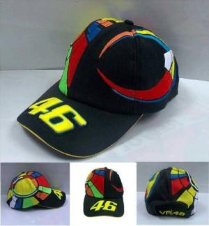 Topi MotoGP Rossi Sunmoon Black