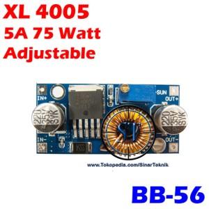 Kit XL4005 5A 75W DC-DC Buck Step Down Adjustable BB-56