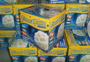 Bola AJAIB Pencuci Baju TANPA Deterjen Magic Washing Power CLEAN BALLZ