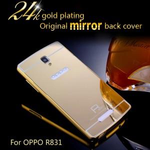 ... Hardcase Bumper Case Slide Bumper Mirror Case Oppo Neo K R831K