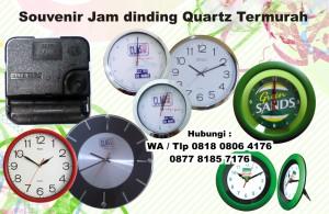 Jual Souvenir Jam dinding Quartz Termurah