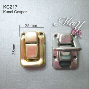 Ornamen Kunci Box / Kotak Emas. KC217