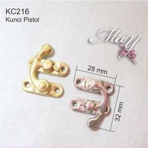 Ornamen Kunci Box / Kotak Emas. KC216