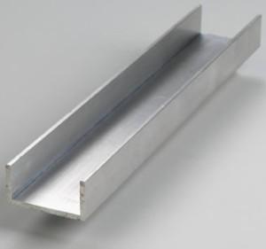 jual profil aluminium u 1 2 x 1 2 inchi rel meteran nuggie store tokopedia. Black Bedroom Furniture Sets. Home Design Ideas