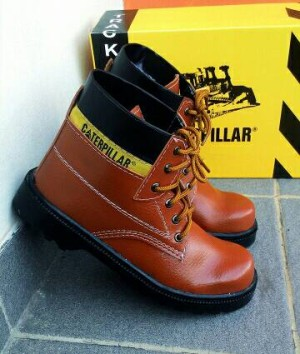 Sepatu Safety Boot Caterpillar