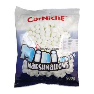 Permen Jelly Kenyal Corniche Mini White Marshmallow