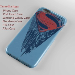 man of steel logo hard case Iphone case dan semua hp