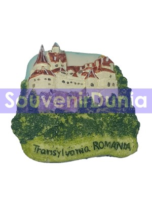 SOUVENIR MAGNET KULKAS DARI ROMANIA