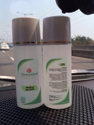 Theraskin Peeling GA 50% isi 100ml - Glycolic Acid 50%