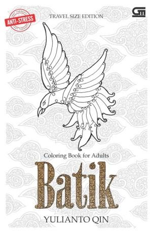 Anti Stress Art Therapy Travel Size Batik Coloring Book Yulianto